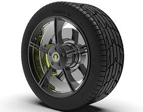 3D print model 5-Spoke Wheel