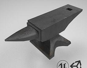 Medieval Anvil 3D asset