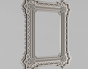 3D print model Frame mirror Russia - 24