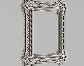 3D print model Frame mirror Russia - 24