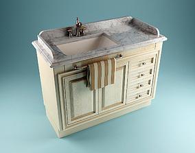 Classic Washstand 3D model