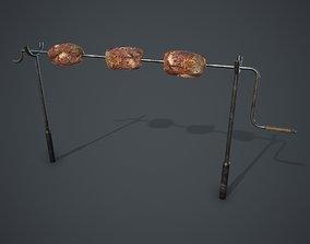 Rotisserie 3D asset