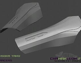 Ahsoka Tano Bracers The Mandalorian Cosplay 3D print model