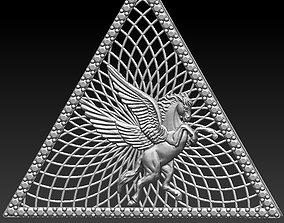 Pyramid hours pendant 3D printable model