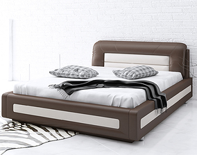 3d upholstered bed