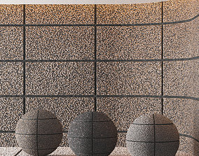 Hemase Mat 03 - Exposed Aggregate Concrete - 3 3D model