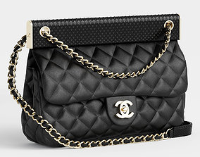 flap bag by chanel 3D model
