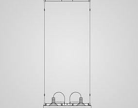 3D Hanging Halogen Lamps 14