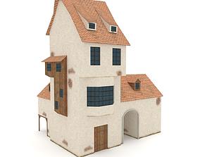 Medieval Building Blacksmiths House 3D model