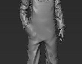 Construction worker builder man 3D print model