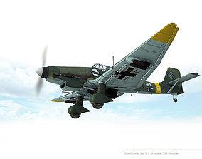 3D Junkers Ju 87 Stuka