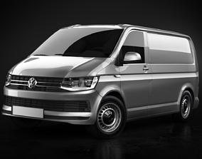 3D model Volkswagen Transporter T6 Panelvan