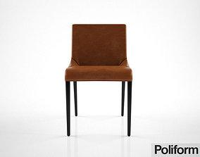 Poliform Seattle chair 3D model