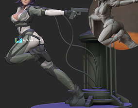 3D print model Ghost in the Shell - Version 1
