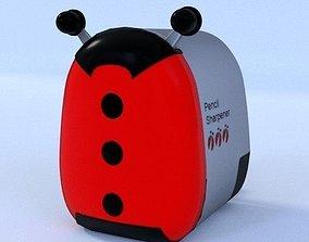 Lady Bug Pencil Sharpemer 3D