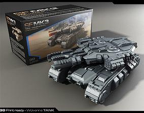 MK3-Tank 3D Print