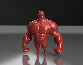 Among Us Muscled Mamadisimo 3D print model