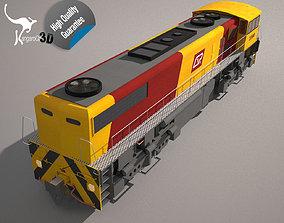 3D model QR Freight Train Class 2390