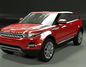 Range Rover Evoque 3-door 2012 3D model