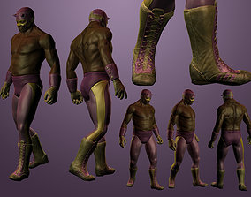 3D model Luchador Character