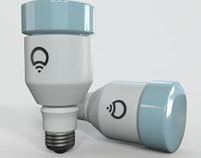 3D model Light Bulb glass