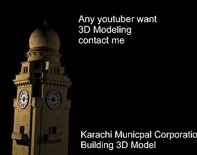 Karachi Munipal Corporation Building Model