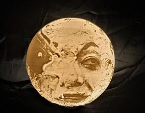 Moon Lamp Georges Melies litophane 3D print model
