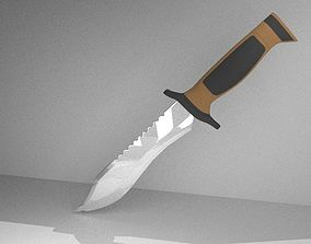3D model Elite Forces military knife
