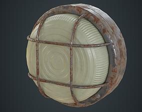 3D asset Bulkhead Light 2D