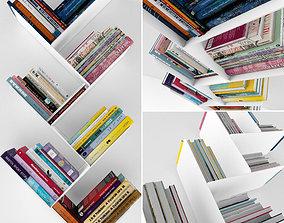shelves 3D Books set
