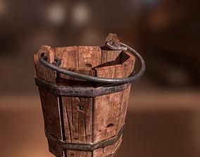 3D asset Medieval Bucket PBR