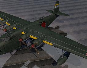 3D Kawanishi H8K2 Emily
