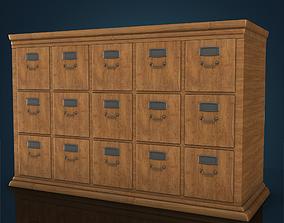 3D asset Office Drawers