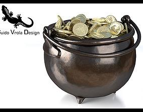 3D model Pot of gold