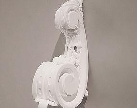 decoration 3D model Holder Antique Style