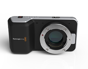 3D model Blackmagic Pocket Cinema Camera