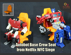 Transformers Autobot Base Crew Seat from 3D print model 2