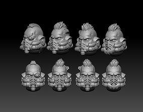 3D print model GRAVIS HEADS
