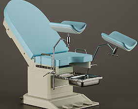 realtime Gynecological examination chair Medical Chair 3D