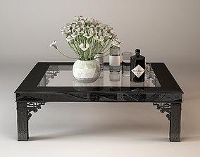 3D model ralph Lauren conservatory garden cocktale table