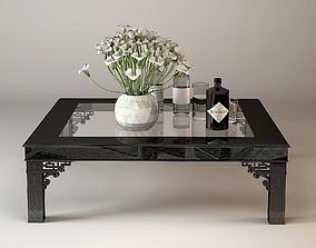 3D ralph Lauren conservatory gardencocktale table