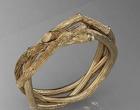 3D printable model ring branch