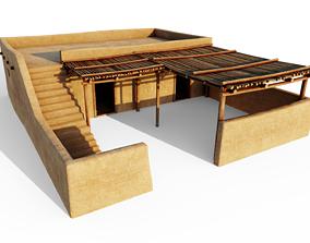 Common Desert House 3D model