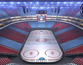 3D model Ice Hockey Arena V2