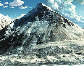 Mountain landscape Everest mount 3D model