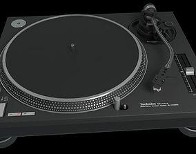 3D Technics SL1200 Mk2 Turntable