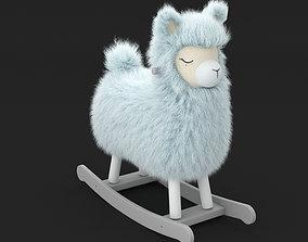 3D model Rio Rocking Llama