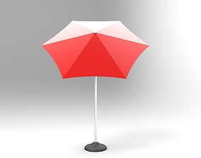 3D model Adjustable Table Umbrella