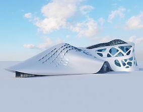 3D Futuristic building 6