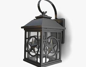 3D Outdoor wall lantern 13